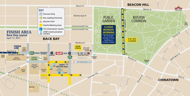Event Maps  Boston Athletic Association  BAA